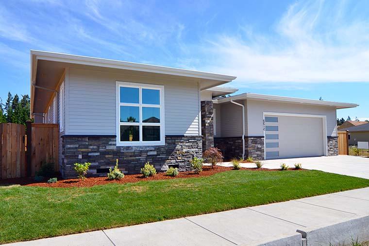 Modern, Prairie, Ranch House Plan 41389 with 3 Beds, 2 Baths, 2 Car Garage Picture 5