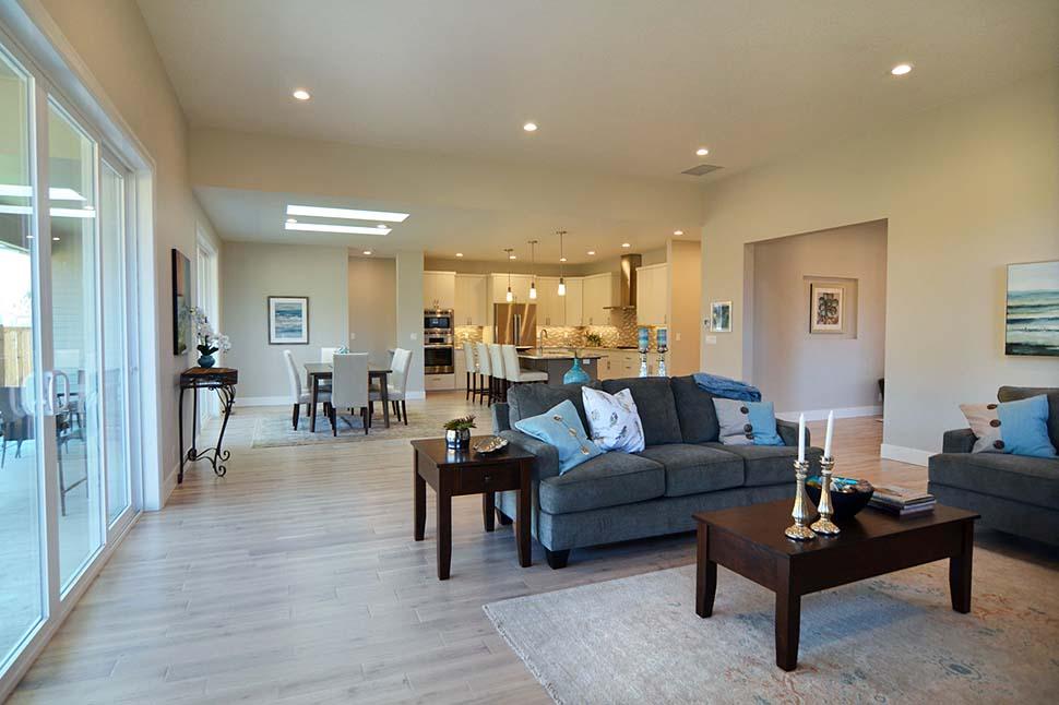 Modern, Prairie, Ranch House Plan 41389 with 3 Beds, 2 Baths, 2 Car Garage Picture 8