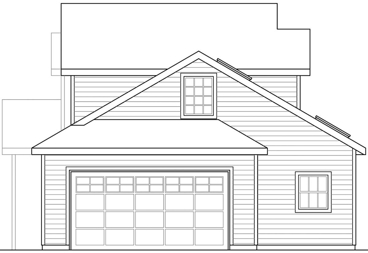 Contemporary, Country, Ranch House Plan 41390 with 3 Beds, 3 Baths, 2 Car Garage Picture 1