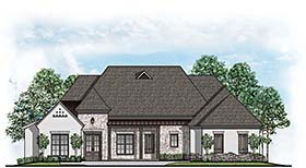 Country European House Plan 41508 Elevation