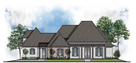 European Southern House Plan 41524 Elevation
