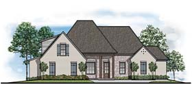 Country European House Plan 41533 Elevation