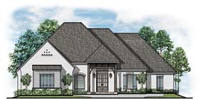 Traditional , European House Plan 41540 with 4 Beds, 4 Baths, 3 Car Garage Elevation