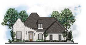 Contemporary European House Plan 41543 Elevation