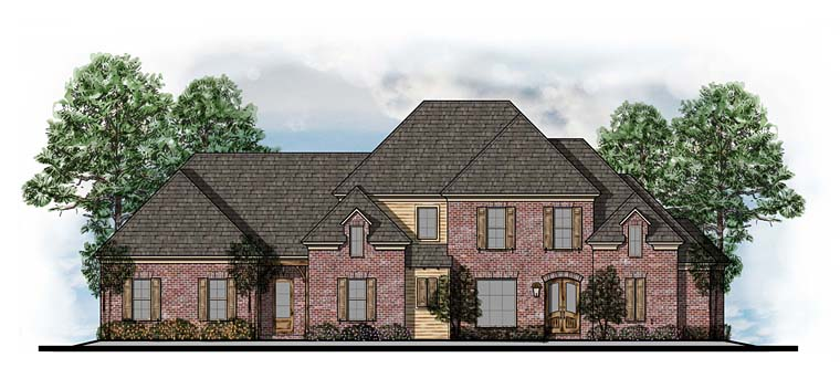 Southern Traditional House Plan 41556 Elevation