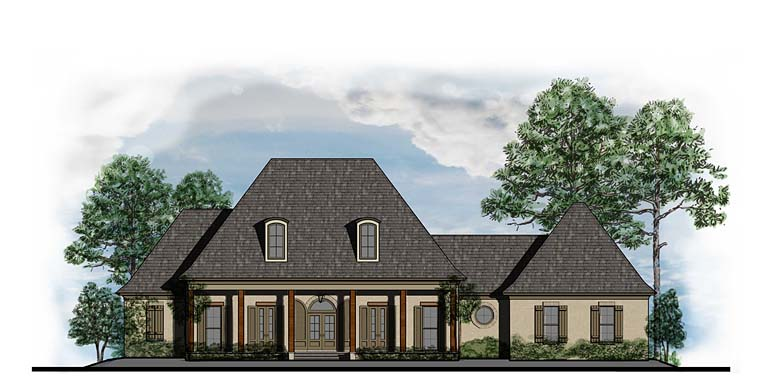 European French Country Southern House Plan 41563 Elevation