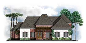 Country French Country House Plan 41577 Elevation
