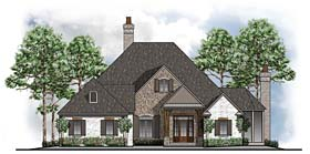 Country European Southwest Traditional House Plan 41583 Elevation