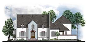 Colonial European Southern House Plan 41584 Elevation
