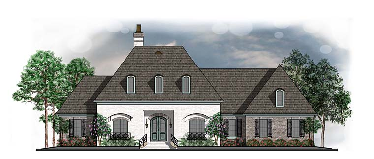 Cottage Country European French Country Southern House Plan 41606 Elevation