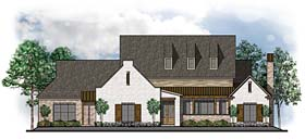 European Southern Traditional House Plan 41616 Elevation