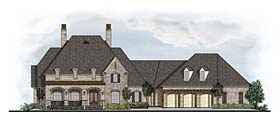 Colonial , European , French Country House Plan 41623 with 3 Beds, 4 Baths, 3 Car Garage Elevation