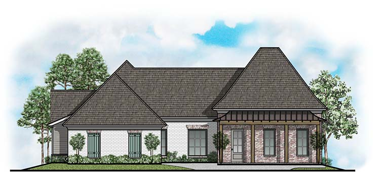 European French Country House Plan 41651 Elevation