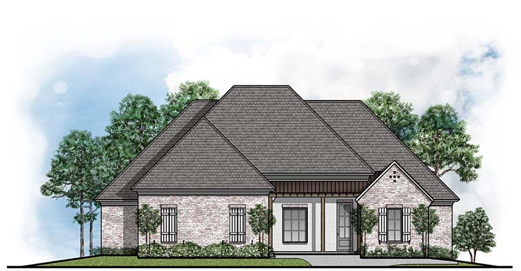 Country European House Plan 41654 Elevation
