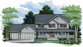Plan Number 42003 - 2301 Square Feet