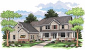 Plan Number 42014 - 2734 Square Feet