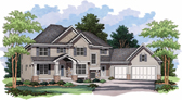 Plan Number 42018 - 3071 Square Feet