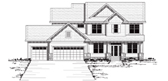 Plan Number 42036 - 2764 Square Feet