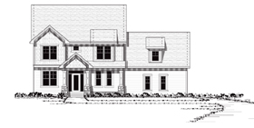 Colonial European Traditional House Plan 42040 Elevation