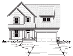 House Plan 42043 | Bungalow Craftsman European Traditional Style Plan with 2516 Sq Ft, 3 Bedrooms, 3 Bathrooms, 2 Car Garage Elevation