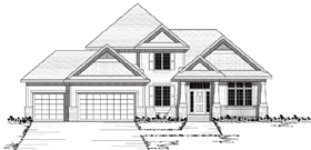 Plan Number 42046 - 2456 Square Feet