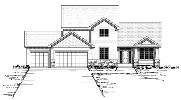 Colonial European Traditional House Plan 42051 Elevation