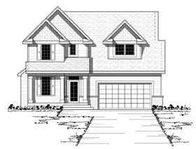 Craftsman , European , Traditional House Plan 42053 with 3 Beds, 3 Baths, 2 Car Garage Elevation