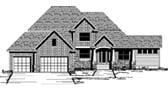 Plan Number 42064 - 3820 Square Feet