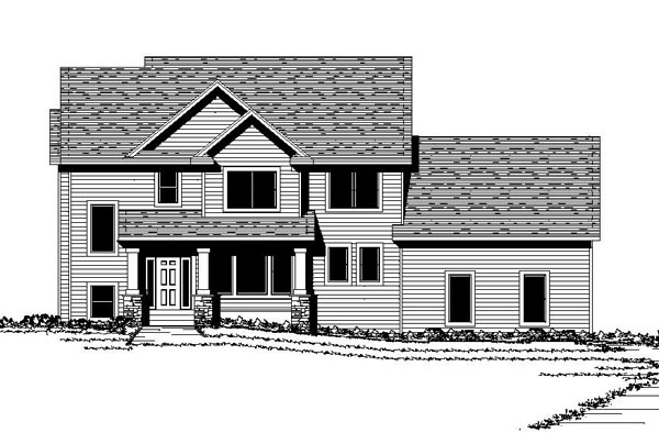 Colonial Traditional House Plan 42069 Elevation