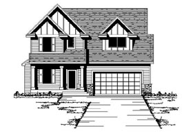House Plan 42080 | Craftsman, Traditional Style House Plan with 1945 Sq Ft, 3 Bed, 3 Bath, 2 Car Garage Elevation