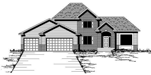 European Traditional House Plan 42088 Elevation