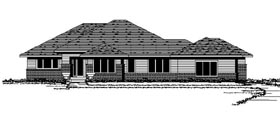 Contemporary European House Plan 42106 Elevation