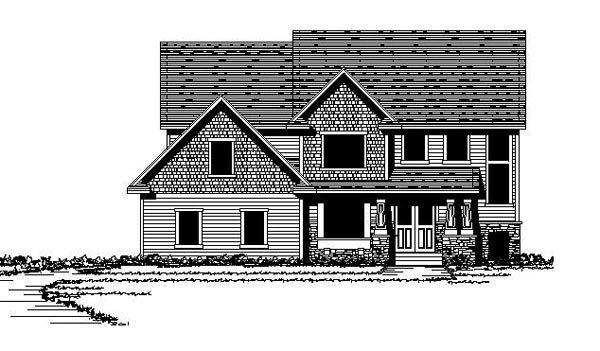 Colonial European Traditional House Plan 42115 Elevation