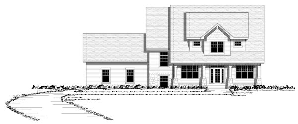 Country Craftsman European Traditional House Plan 42118 Elevation