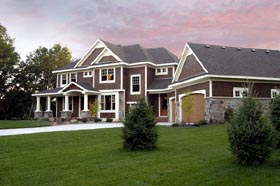 Colonial European Traditional House Plan 42121 Elevation