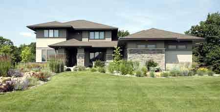 Prairie Style Southwest House Plan 42130 Elevation