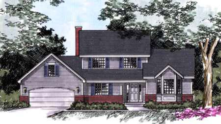 Traditional House Plan 42136 Elevation