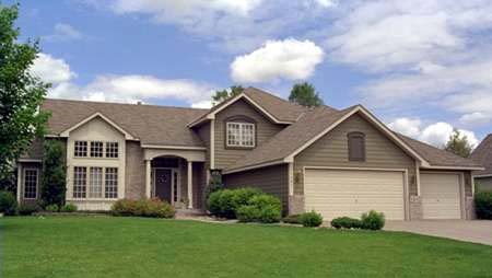Traditional House Plan 42141 with 4 Beds, 3 Baths, 3 Car Garage Front Elevation