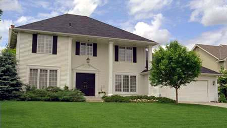 Colonial House Plan 42160 with 3 Beds, 3 Baths, 2 Car Garage Elevation