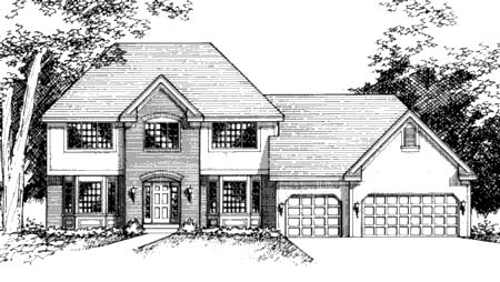 Traditional House Plan 42163 Elevation