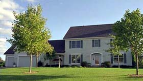 Colonial House Plan 42164 Elevation