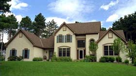 European House Plan 42175 Elevation