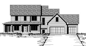 Traditional House Plan 42185 Elevation