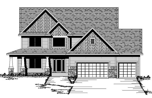 Traditional House Plan 42186 Elevation