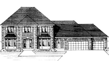 Colonial House Plan 42189 Elevation