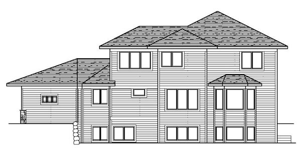 Florida House Plan 42191 Rear Elevation