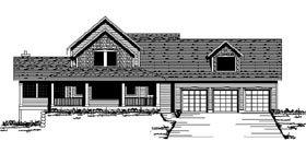 House Plan 42193 Elevation