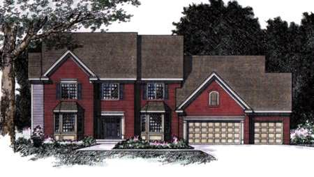 Traditional House Plan 42195 Elevation