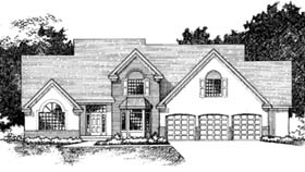 Traditional House Plan 42196 Elevation