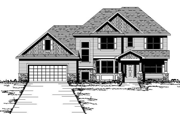 Traditional House Plan 42203 Elevation